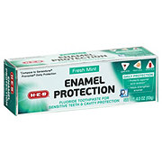 H-E-B Enamel Protection Extra Whitening Fresh Mint Toothpaste