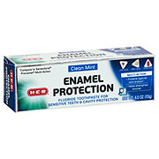 H-E-B Enamel Protection Multi Action Toothpaste Clean Mint