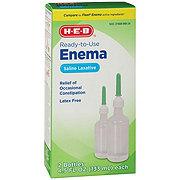H-E-B Enema Saline Laxative