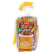 H-E-B Essential Grains 100% Whole Wheat Multigrain Bread