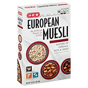 H-E-B European Muesli Nuts & Seeds Cereal