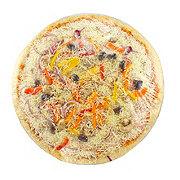 H-E-B Extra Large Thin Crust Veggie Pizza