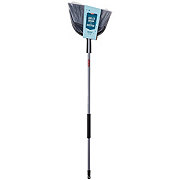 H-E-B Extra Wide Angle Broom and Dustpan