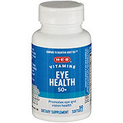 H-E-B Eye Health with Omega 3