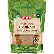 H-E-B Fair Trade Turbinado Raw Cane Sugar
