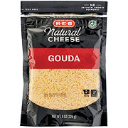 H-E-B Fancy Shredded Gouda