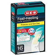 H-E-B Fast Healing Clear Bandages