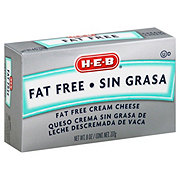 H-E-B Fat Free Cream Cheese