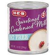 H-E-B Fat Free Sweetened Condensed Milk