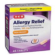 H-E-B Fexofendaine HCL 24 Hour