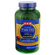 H-E-B Fish Oil 1200 mg Enteric Coated Softgels