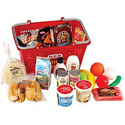 H-E-B Food Basket with Play Food