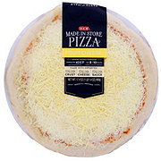 H-E-B Four Cheese Pizza, Made Fresh In Store