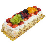 H-E-B Fresh Fruit Cake, 1/8 Sheet