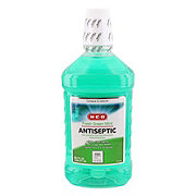 H-E-B Fresh Green Mint Antiseptic Mouthwash