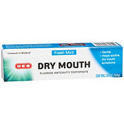 H-E-B Fresh Mint Dry Mouth Toothpaste