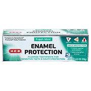 H-E-B Fresh Mint Enamel Protection Toothpaste