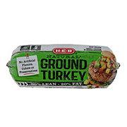 H-E-B Frozen Ground Turkey, 80% Lean