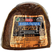 H-E-B Fully Cooked Boneless Black Pepper Sliced Ham with Natural Juices