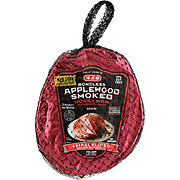H-E-B Fully Cooked Boneless Spiral Sliced Applewood Smoked Honey Ham