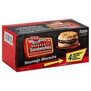 H-E-B Fully Cooked Jumbo Sausage & Biscuits