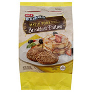 H-E-B Fully Cooked Maple Pork Sausage Patties
