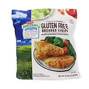 H-E-B Fully Cooked Natural Breaded Chicken Breast Strips