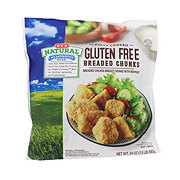 H-E-B Fully Cooked Natural Gluten Free Breaded Chicken Breast Chunks
