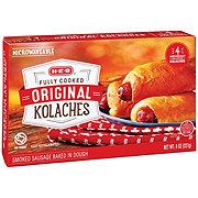 H-E-B Fully Cooked Original Sausage Kolaches