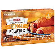 H-E-B Fully Cooked Sausage & Cheddar Kolaches