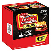 H-E-B Fully Cooked Sausage & Biscuits