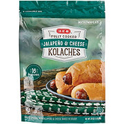 H-E-B Fully Cooked Sausage Cheddar and Jalapeno Kolaches
