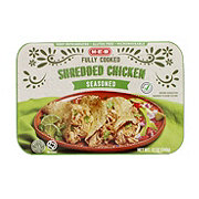 H-E-B Fully Cooked Shredded Seasoned Chicken