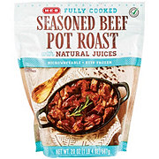 H-E-B Fully Cooked Single-Serve Beef Pot Roasts