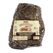 H-E-B Fully Cooked Sliced Mesquite Smoked Brisket Club Pack