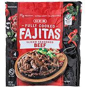 H-E-B Fully Cooked Sliced Seasoned Beef Fajitas
