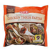 H-E-B Fully Cooked Sliced Seasoned Chicken Thigh Fajitas Texas Size