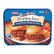 H-E-B Fully Cooked Sloppy Joes