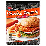 H-E-B Fully Cooked Spicy Breaded Chicken Breasts