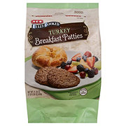 H-E-B Fully Cooked Turkey Breakfast Patties