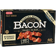 H-E-B Fully Cooked Value Pack Bacon