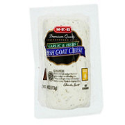 H-E-B Garlic and Herbs Fresh Goat Cheese Log