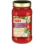H-E-B Garlic & Herb Pasta Sauce