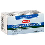 H-E-B Gas Relief & Prevention Capsules