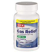 H-E-B Gas Relief Extra Strength Softgel