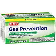 H-E-B Gas Relief & Prevention Capsules