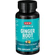 H-E-B Ginger Root 550mg