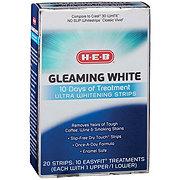 H-E-B Gleaming White 10 Day Whitening Treatment