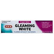 H-E-B Gleaming White Fresh Mint Toothpaste