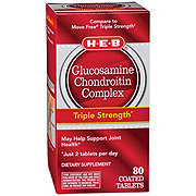 H-E-B Glucosamine Chondroitin Complex Advanced Coated Tablets